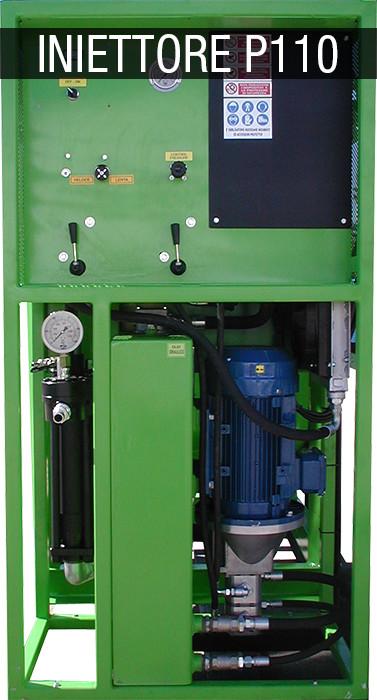 grout pump - iniettori P110
