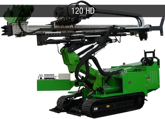 micropiles foundation drilling rig - Macchine da perforazione micropali JC 120 HD