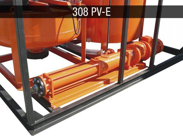 Electric mixing plant - Impianti elettrici JC 308 PV-E