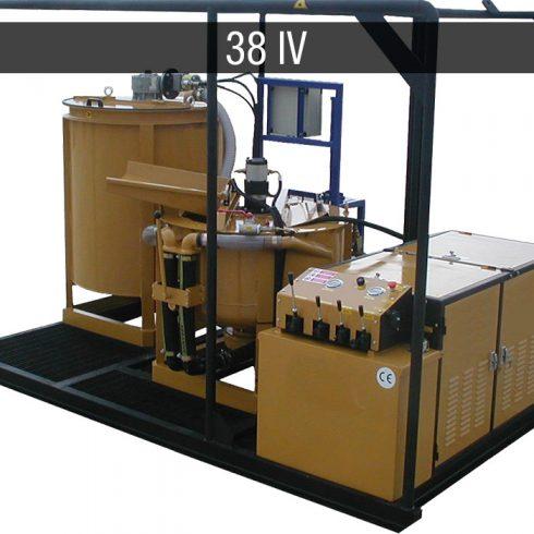 diesel mixing plant - impianti diesel JC 38 IV