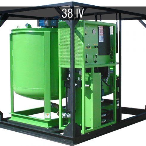 Electric mixing plant - Impianti elettrici JC 38 IV E