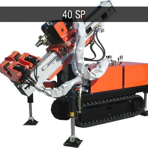 micropiles foundation drilling rig - Macchine da perforazione micropali JC 40 SP