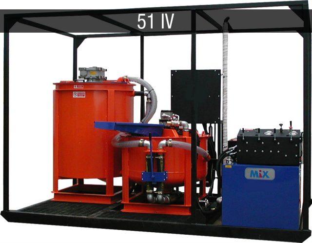 diesel mixing plant - impianti diesel JC 51 IV