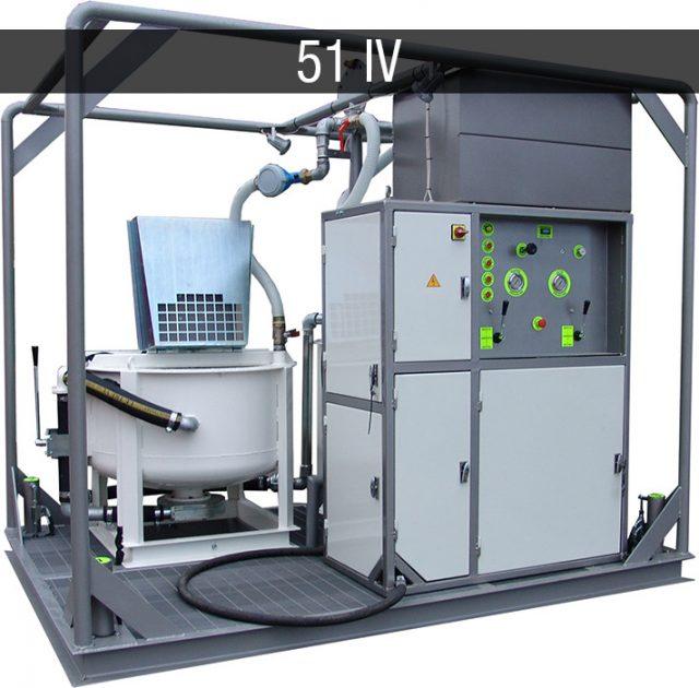 Electric mixing plant - Impianti elettrici JC 51 IV E