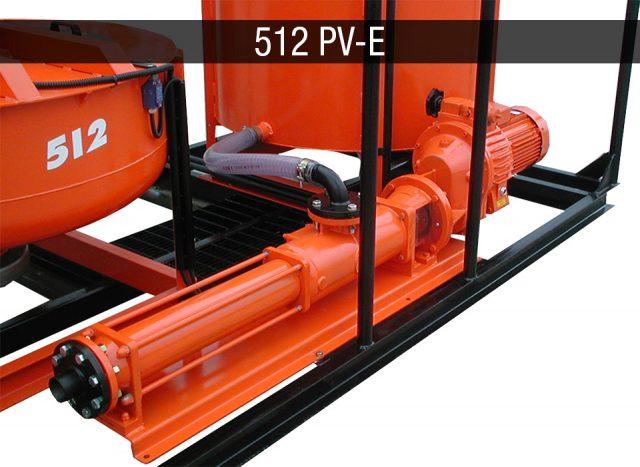 Electric mixing plant - Impianti elettrici JC 512 PV-E