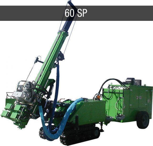micropiles foundation drilling rig - Macchine da perforazione micropali JC 60 SP