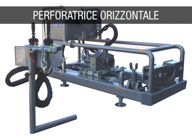 perforatrice orizzontale PL 106 F