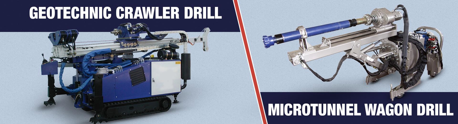 Geotechnic Crawler Drill