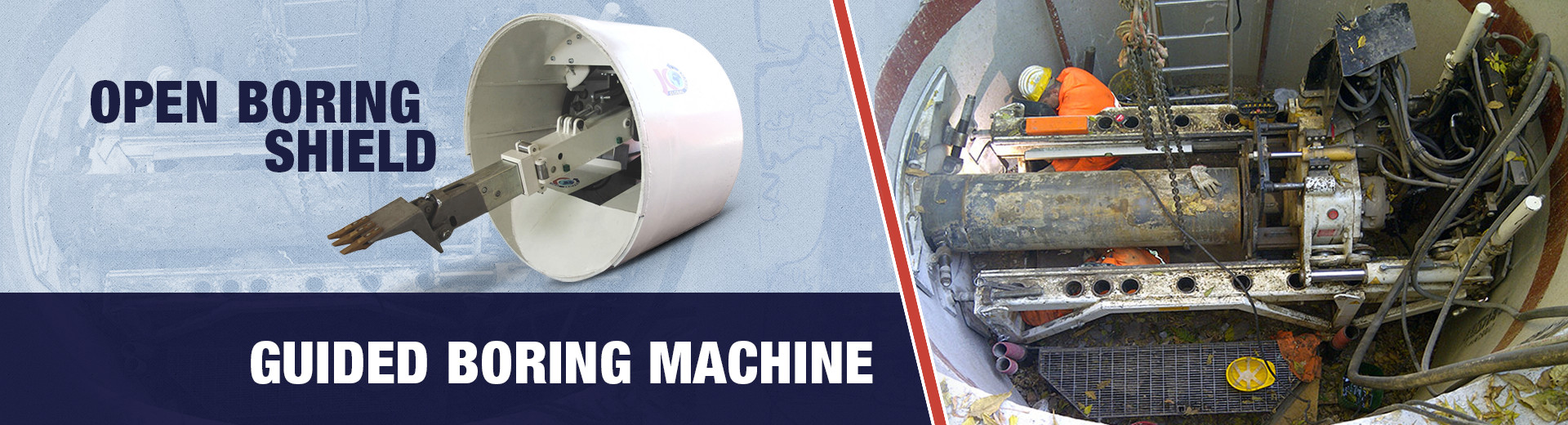 BORING SHIELD MACHINE