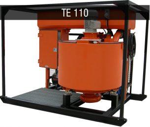 Turbomixer Turbomiscelatori TE 110