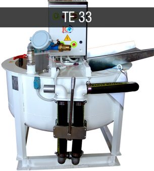 Colloidal mixing plant Turbomixer Turbomiscelatore TE 33