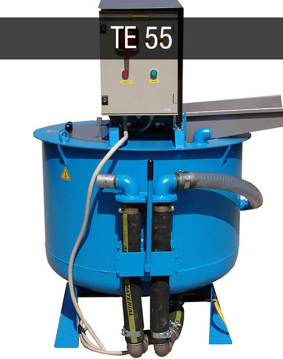 Colloidal mixing plant Turbomixer Turbomiscelatori TE 55