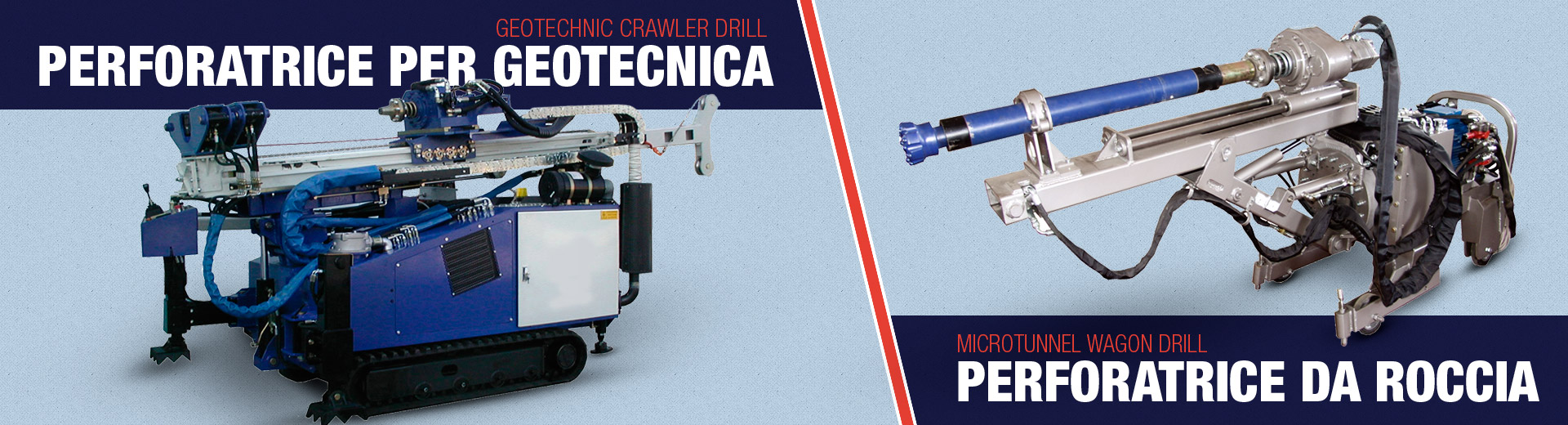 macchine da microperforazione e geotecnica